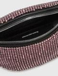 Alexander Wang Attica Rhinestone Fanny Pack Prism Pink Women