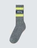 Stussy Stripe Fa18 Crew Socks Picture