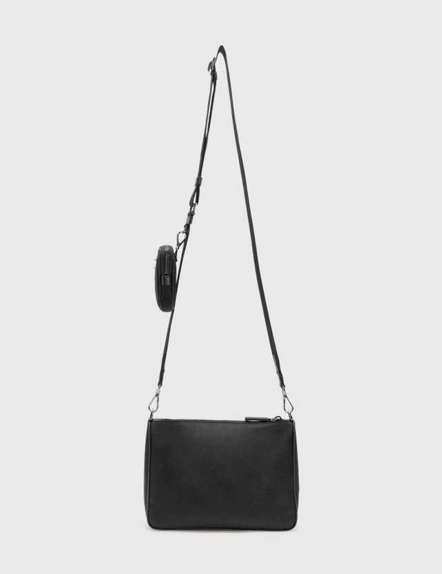 Prada Nylon Crossbody Bag With Small Pouch
