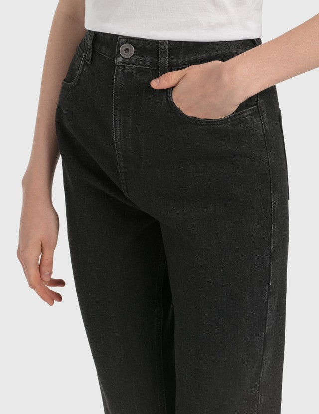 Prada Denim Jeans Black Black Women
