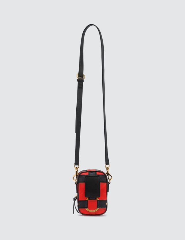 Versace Harness Print Crossbody Bag