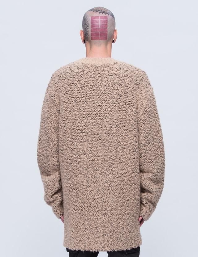YEEZY Season 3 Oversized Teddy Boucle Sweater