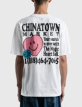 Chinatown Market Smiley Fortune Ball Soul Mate T-shirt White Men