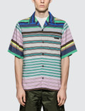 Prada Stripe Bowling Shirt Picture