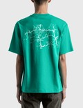Acne Studios Extorr Record 티셔츠 Green Men