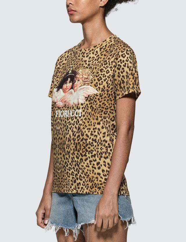 Fiorucci Vintage Angels Leopard T-shirt