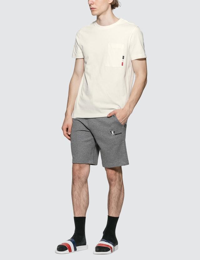 Moncler Stripe Tab T-Shirt