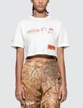 Heron Preston Stamp Print Crop Short Sleeve T-shirt Picutre