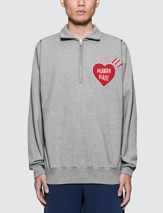 Human Made P/O Zip Sweatshirt