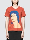 Undercover David Bowie T-shirt in Orange