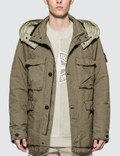 Stone Island Field Jacket with Removable Hood Picutre