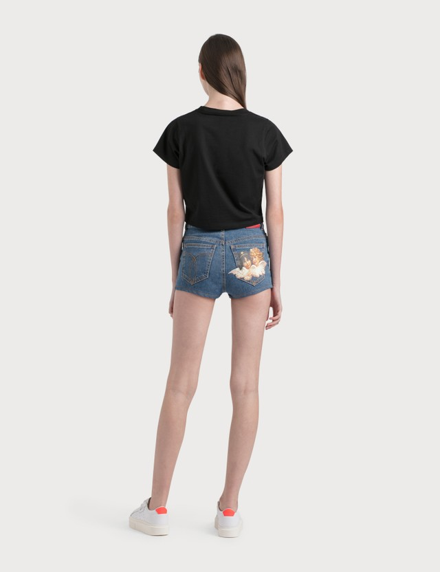 Fiorucci Angels Patch Shorts