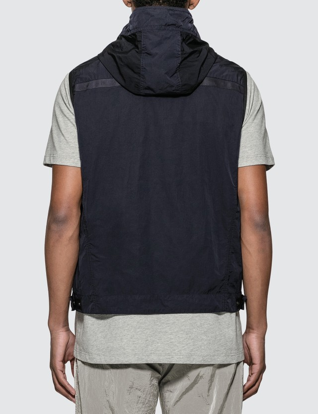 Moncler Touques Jacket Vest Navy Men