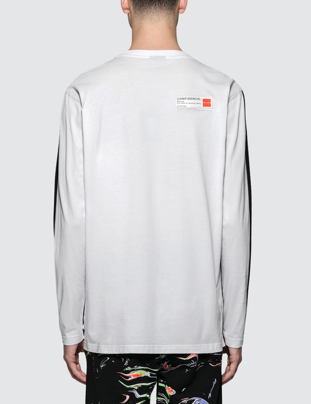 Marcelo Burlon Patches L/S T-Shirt Black Men