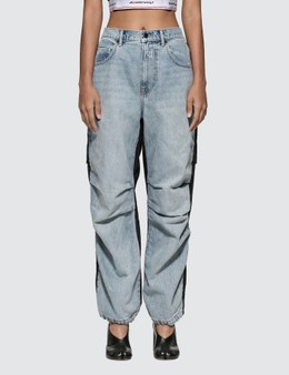 Alexander Wang.T Pack Mix Denim Pants