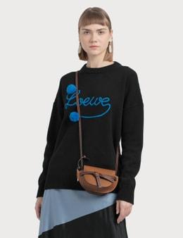 Loewe Pompons Logo Wool Sweater
