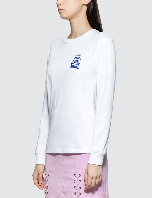 X-Girl Riot Grrrl Long Sleeve T-shirt