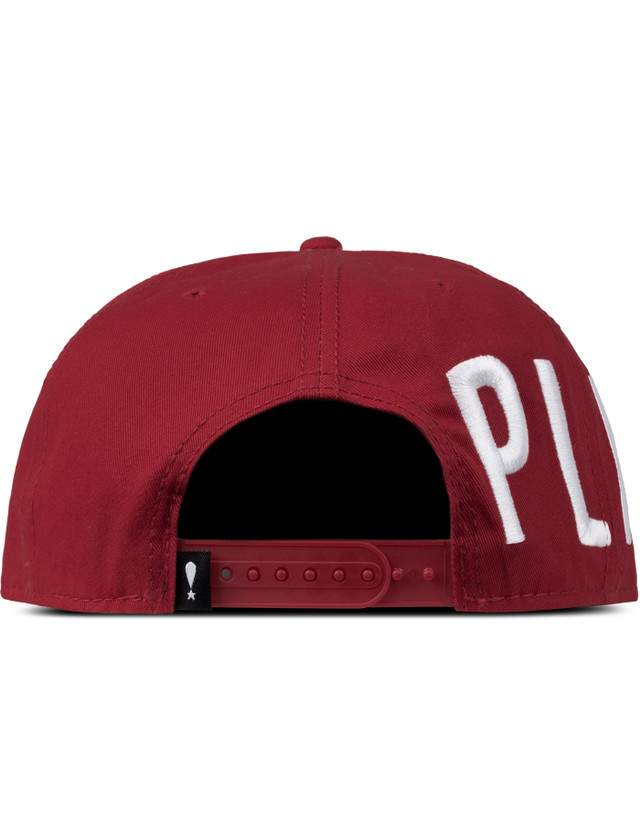Play Cloths Red Halo Snapback
