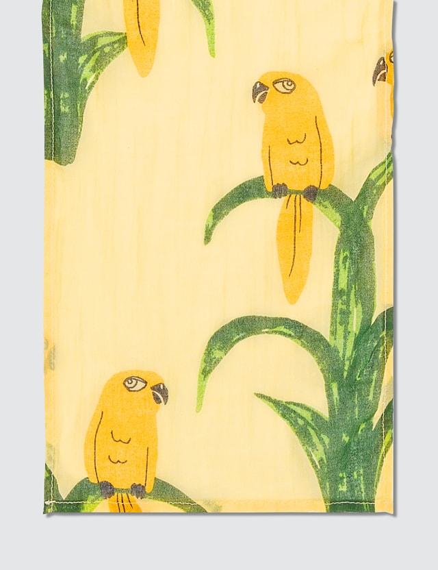 Mini Rodini Parrot Woven Scarf
