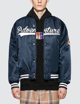 Thisisneverthat Adventurer Varsity Jacket