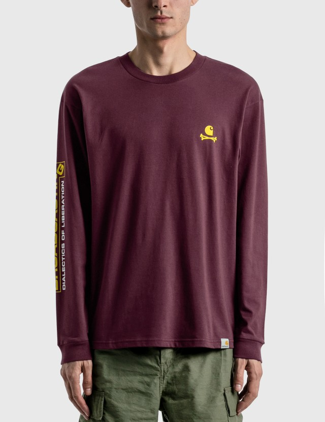 Carhartt Work In Progress Airwaves Long Sleeve T-shirt Shiraz Men