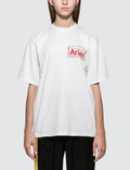 Aries Aries Logo Short Sleeve T-shirt Picture