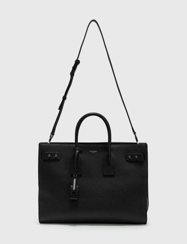 Saint Laurent Grained Leather Bag