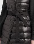 Moncler Long Hooded Sleeveless Gilet