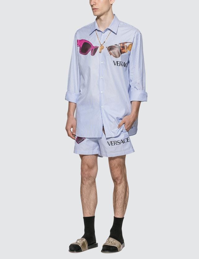 Versace Medusa Biggie Print Shirt