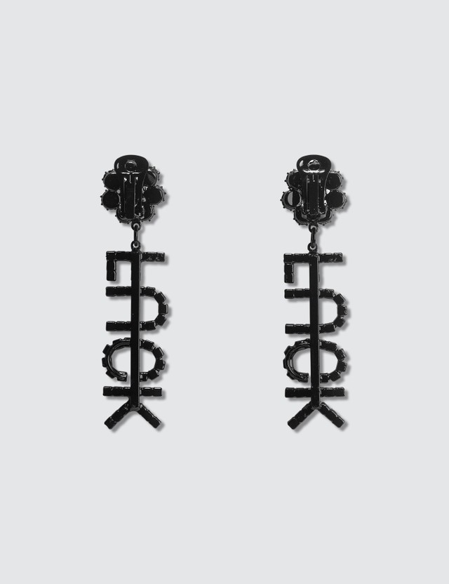 Ashley Williams FUCK Earrings