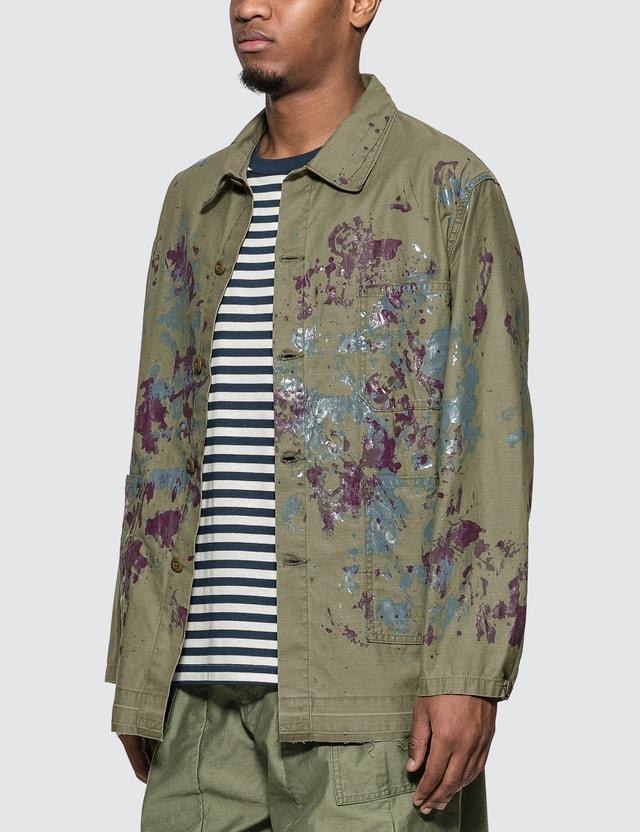 Needles D.N. Coverall - Back Sateen / Paint Shirt