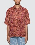 Aries Leopard Chains Hawaiian Shirt 사진