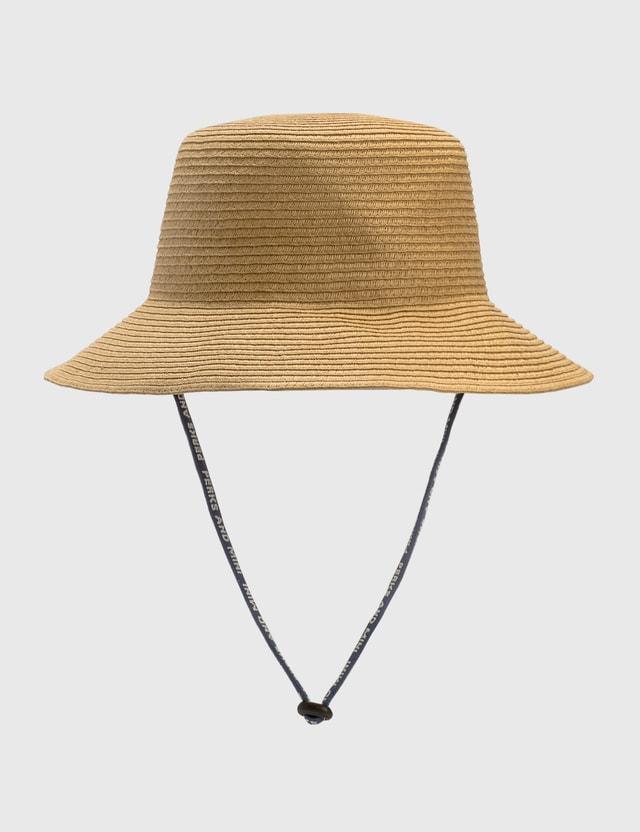 Perks and Mini PAM Warped Record Hat Beige Men