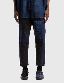 FDMTL Rinse Boro Patchwork Pants