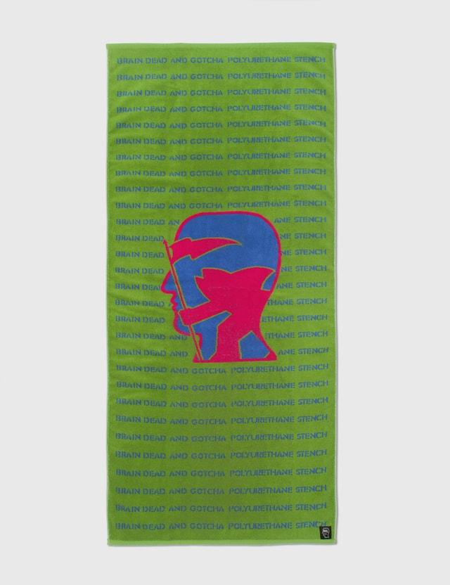 Brain Dead Brain Dead x Gotcha Polyurethane Stench Towel