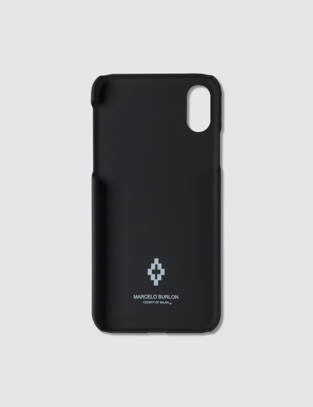 Marcelo Burlon Catch Them Wings Iphone X Case Black Men