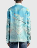 Casablanca Silk Twill Casablanca Ski Club Shirt