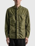 Stone Island Shadow Project Vented Field Jacket Olive Men
