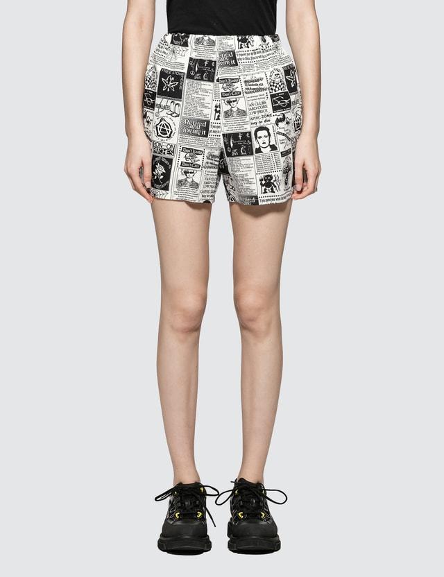 Ashley Williams Tropic Magazine Shorts
