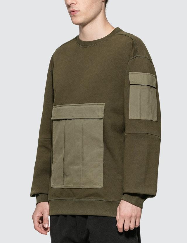 Maharishi M65 Crew Sweatshirt