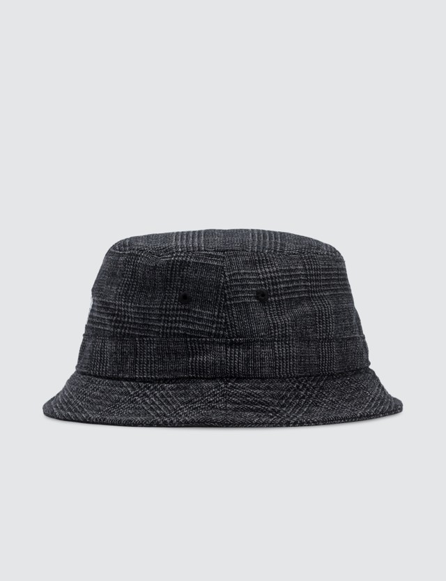 Stussy Glen Plaid Bucket Hat