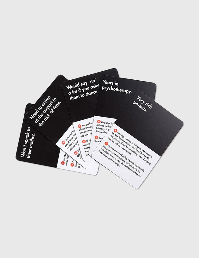 The School of Life Who Should I Be With Card Game N/a Life