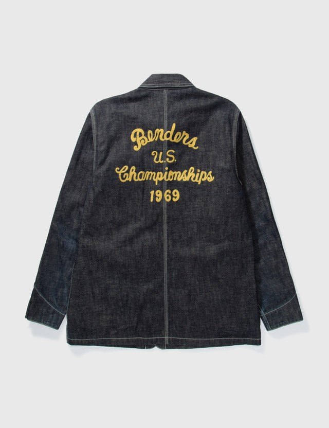NEIGHBORHOOD Neighborhood Worker Denim Jacket Indigo Archives