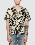 Saint Laurent Jungle Motif Short Sleeve Shirt Picutre