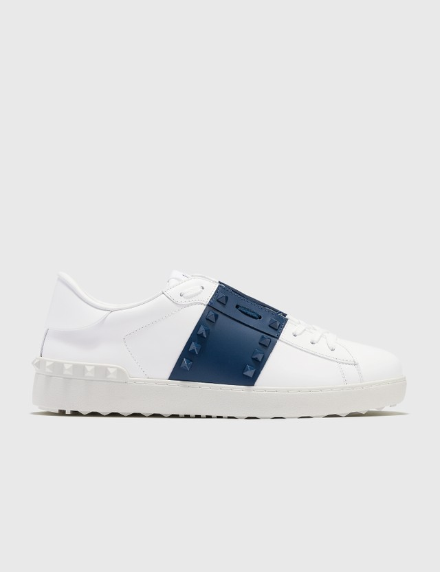Valentino Valentino Garavani Untitled Sneaker Bianco/new Baltique/bianco Men