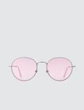 Super By Retrosuperfuture Wire Pink Sunglasses Picture