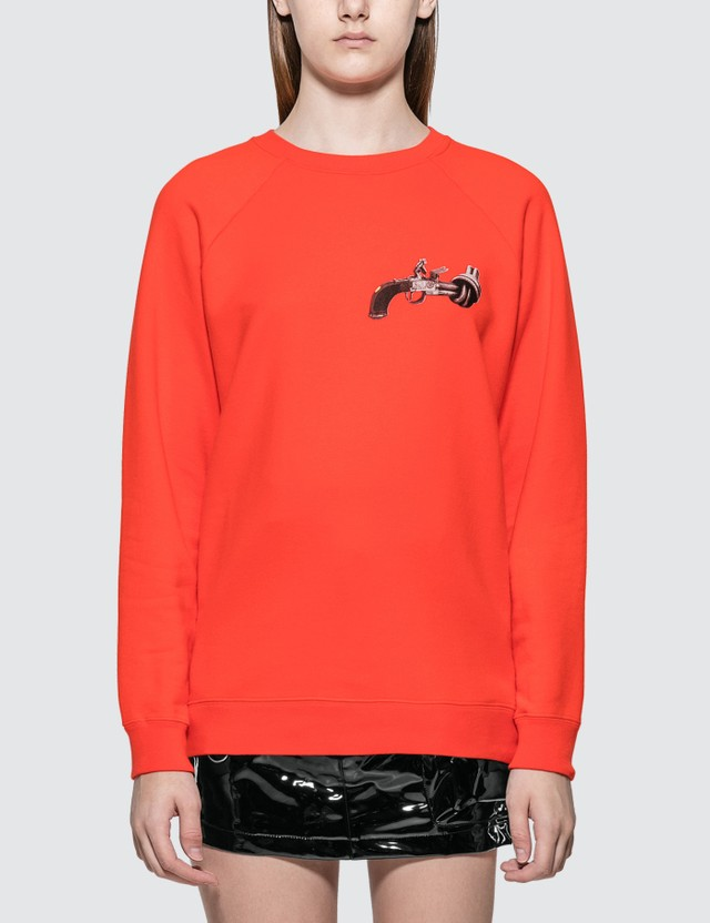 Kirin Gun Graphic Print Sweatshirt