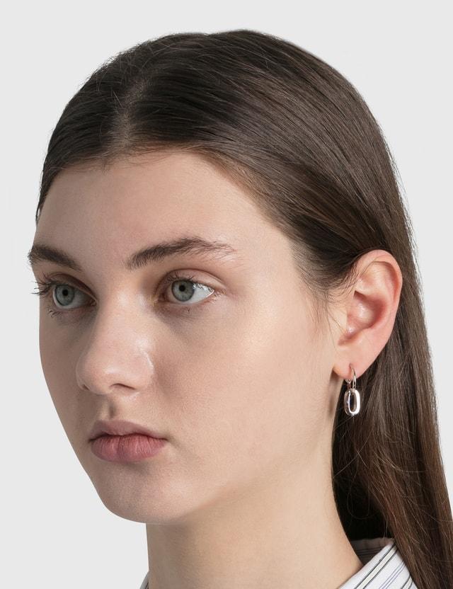 Justine Clenquet Debbie Earrings Silver Women