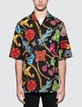 Versace Allover Chain Print S/S Shirt Picture