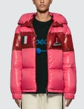 Moncler Color Block Puffer Down Jacket Picutre